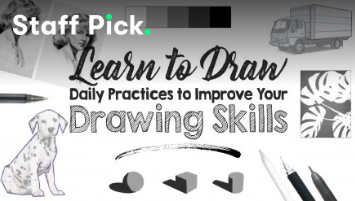 Enrol in class, Learn to Draw: Daily Practices to Improve your Drawing Skills on Skillshare.