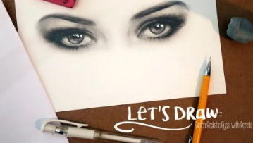 Enrol in drawing class, Let's Draw: Sketch Realistic Eyes, on Skillshare