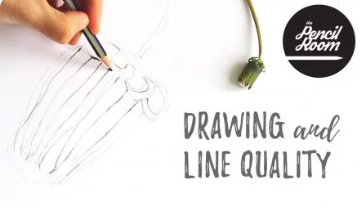 Enrol in Drawing and Line Quality class on Skillshare